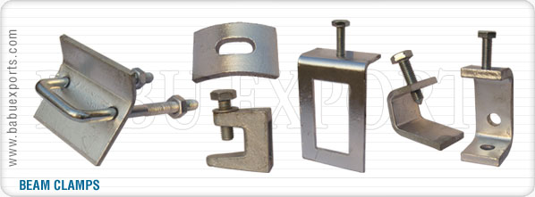 strut channel beam clamps manufacturers exporters suppliers india