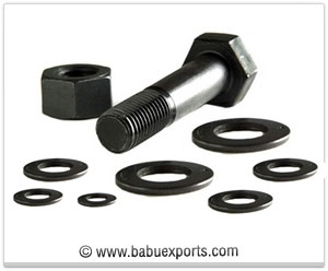 Heavy Hex Bolt Nut washer fasteners manufacturers exporters india