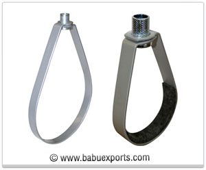 Swivel Ring Hanger Adjustable  strut channel Hanger Clamps manufacturers exporters india
