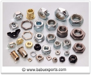 All Nuts fasteners manufacturers exporters india