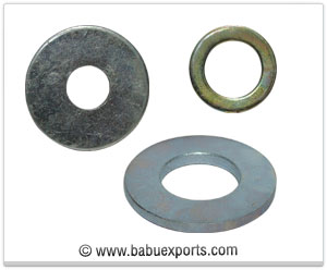 Plain Washers manufacturers exporters india